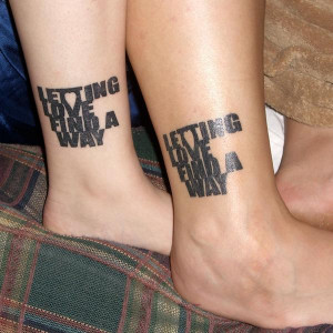 couple tattoos quotes
