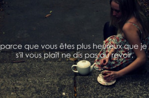 French Picture Quotes