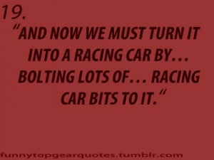 top gear richard hammond race car