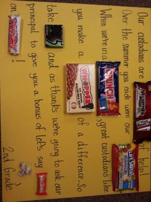 custodian appreciation week!Appreciation Ideas, Posters Appreciation ...