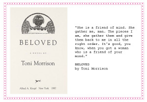 An analysis of the symbolism in the novel beloved by toni morrison