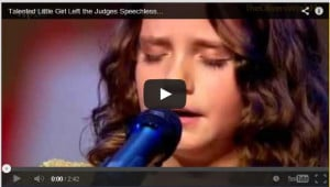 UNBELIEVABLE! Little Girl Sings Opera And Leaves Judges Speechless
