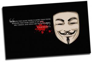 For Vendetta Mr Creedy Quote