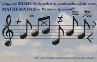 Cool quotes about Math and Music.