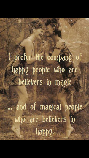 Happy magic quote
