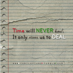 Time Heals Quotes And Sayings