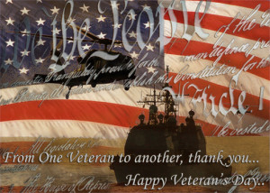 from one veteran to another thank you happy veteran s day