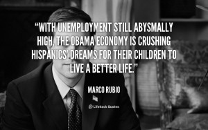 With unemployment still abysmally high, the Obama economy is crushing ...