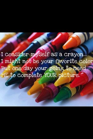 colours, crayon, love, love quotes, quotes