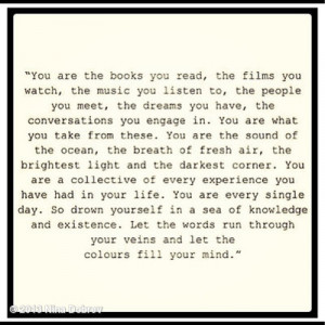 Picture Quote Of The Day: #life. You are...