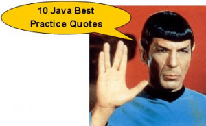 Quote 1: Avoid creating unnecessary objects and always prefer to do ...