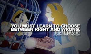 The Blue Fairy from Pinocchio quote