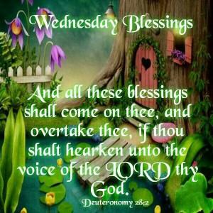Wednesday Blessings...