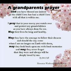 Grandparent's Prayer More