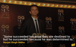 20. A quote that proves Dravid's perseverance paid off