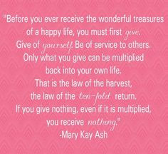 Before you ever receive the wonderful treasures of a happy life, you ...