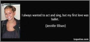 Jennifer Ellison Quote