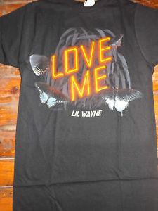 LIL WAYNE Love Me T-Shirt **NEW music band concert tour