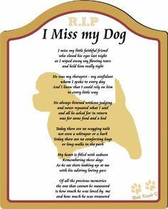 dog memorial tattoos | ... dog, memorial for dog, Plaque for Dog (CFS ...
