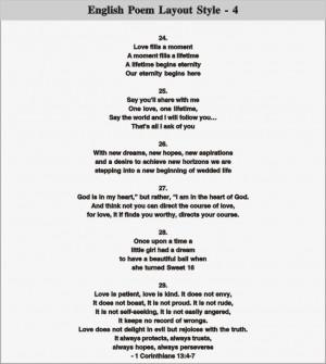 English Poem Layout - 4