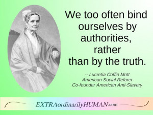 Mott and Martha Coffin Wright helped organize the Women's Rights ...