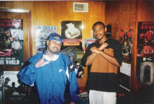 DJ Screw & his brother Al-D