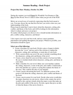 essay on flipped by wendelin van draanen 1 division of language arts/reading ir-en novel unit – flipped – day 8 revised june 2011 6th grade novel study: flipped (wendelin van draanen.