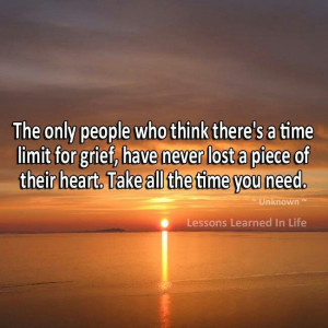 Grief...take your time.
