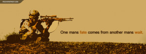 Cant Run From Me Sniper One Mans Fate Quote