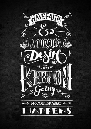 ... Yet Inspiring Typography Design Quotes | Best Poster Collection