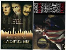 Gangs of New York Bill the Butcher Quote Poster Brand New Licensed TWO ...