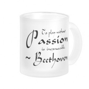 Music Teacher Quotes Beethoven music passion quote
