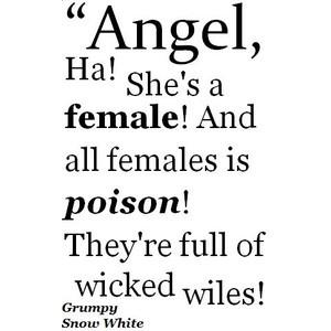 Disney Snow White Grumpy Quote