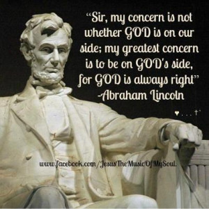 Abraham Lincoln Presidential Quote
