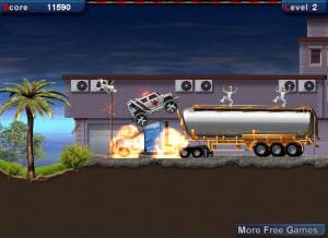 ambulance rush flash game
