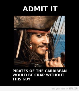 daily, funny, jack sparrow, johnny depp, life, potc, true