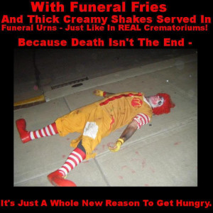 Funny Ronald Mcdonald Pictures