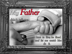 Remembering our First Hero-Death Anniversary Message for Father!