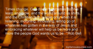 Favorite Rob Bell Quotes