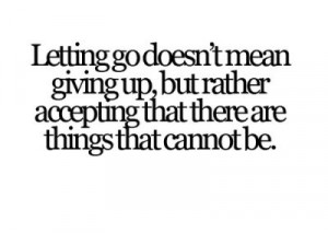 accepting, art, change, frase, giving up, hardy, let go, letting go ...