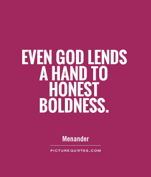 Bold Quotes and Sayings