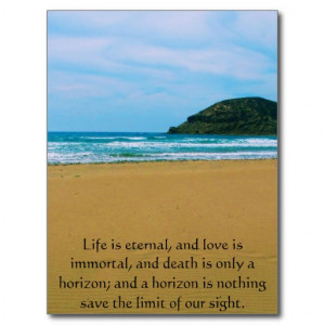 poem_about_death_inspirational_grieving_quote_postcard ...