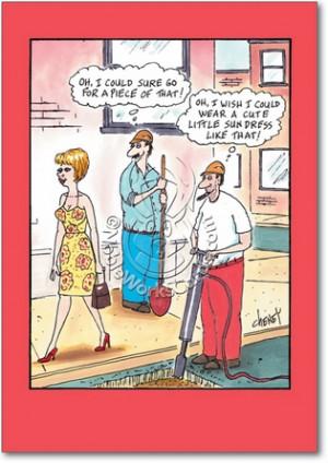 Sun Dress Adult Humor Birthday Greeting Card Nobleworks