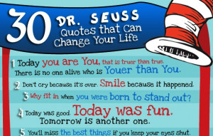 30 inspirational Dr. Seuss Quotes   22 Words