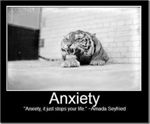Amanda Seyfried quote on Anxiety