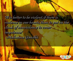 Violence Quotes