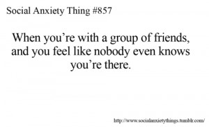 Social Anxiety Things Tumblr