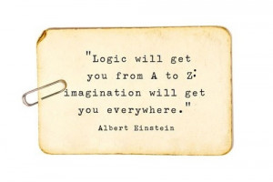 logic vs. imagination