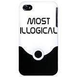 Spock Quote Most Illogical iPhone Case More