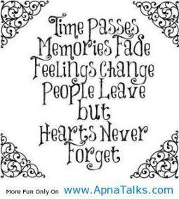 time passes memories love of my life quotes - Apna Talks